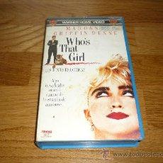 Cine: PELICULA MADONNA WHO`S THAT GIRL VIDEO BETA 1988 94` RARA. Lote 38409688