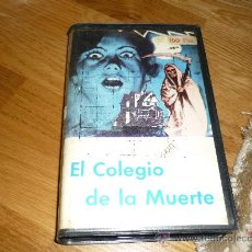 Cine: PELICULA EL COLEGIO DE LA MUERTE BETA ORIGINAL PEDRO L RAMIREZ SANDRA MOZAROWSKY TERROR ESPAÑOL. Lote 38984349