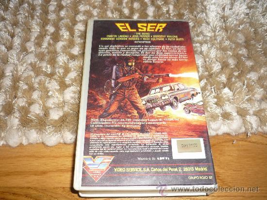 Cine: PELICULA VHS EL SER 1986 82`MARTIN LANDAU JOSE FERRER - Foto 3 - 38987251