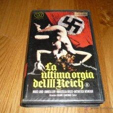 Cine: PELICULA LA ULTIMA ORGIA DEL III REICH BETA. Lote 45597959