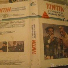 Cine: TINTIN Y EL MISTERIO DE LAS NARANJAS AZULES -BETA. Lote 41172271