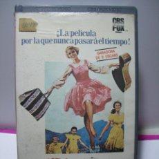 Cine: SONRISAS Y LÁGRIMAS (ROBERT WISE) - JULIE ANDREWS, ... - 172 MINUTOS - CBS - 1984 - BETA. Lote 46776816