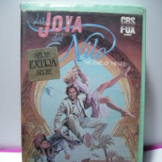 Cine: LA JOYA DEL NILO (MICHAEL DOUGLAS) - KATHLEEN TURNER, DANNY DEVITO - 106 MIN -1986 - CBS - BETA. Lote 46777190