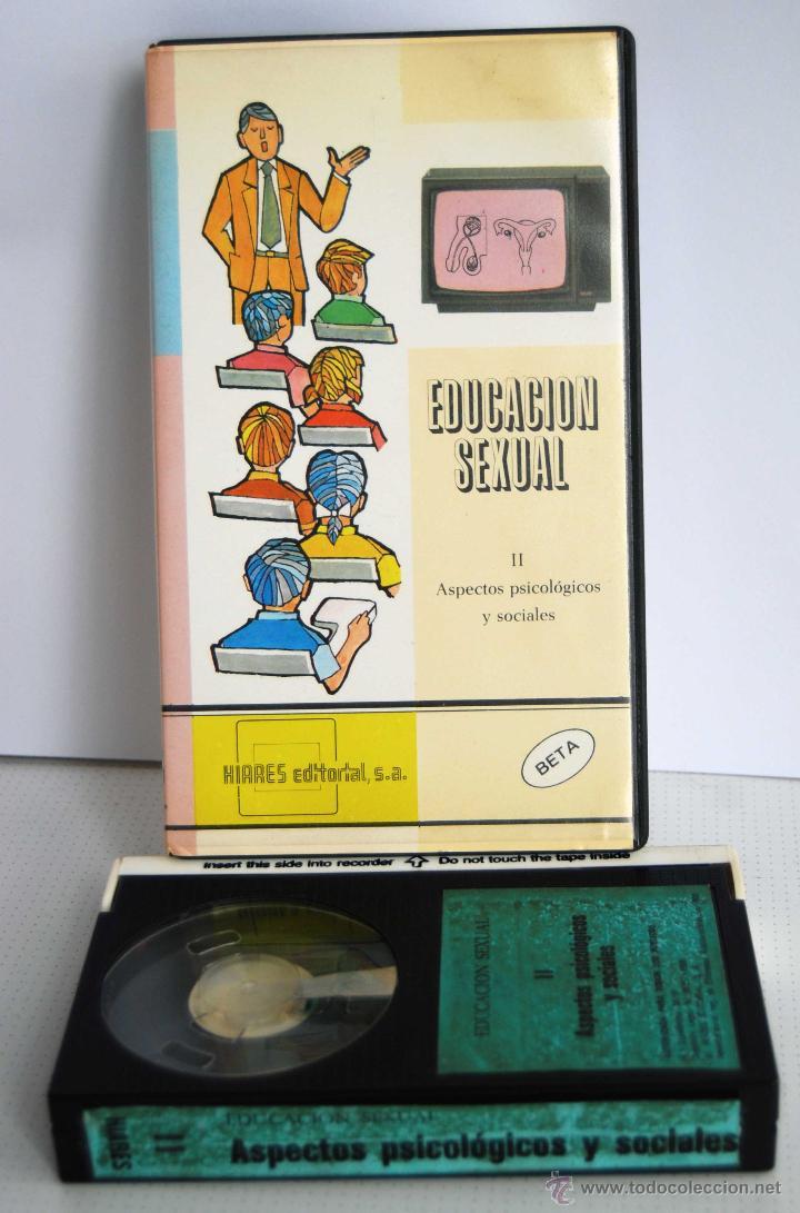 EDUCACION SEXUAL II ASPECTOS PSICOLGICOS Y SOCIALES HIARES EDITORIAL SA EN BETA (Cine - Películas - BETA)
