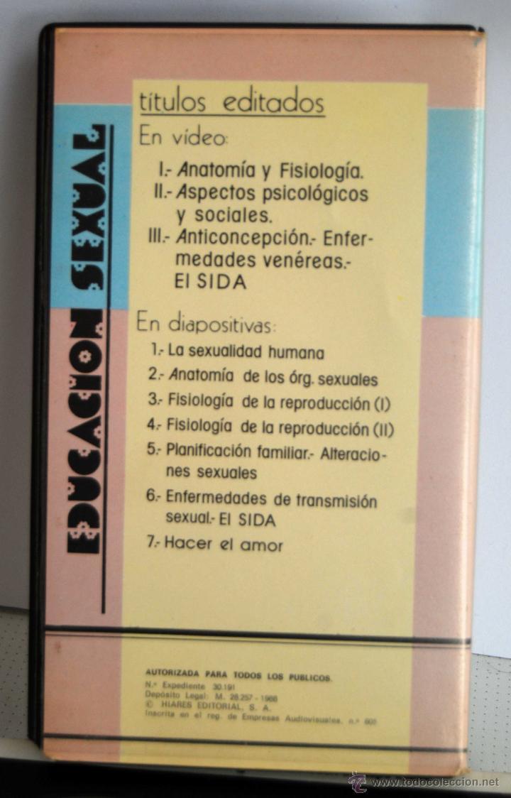 Cine: EDUCACION SEXUAL II ASPECTOS PSICOLGICOS Y SOCIALES HIARES EDITORIAL SA EN BETA - Foto 2 - 48903055