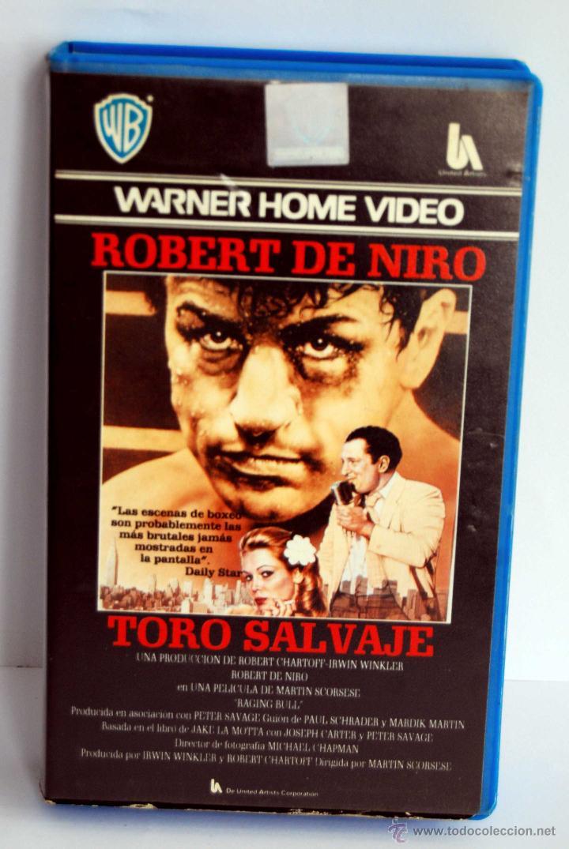 TORO SALVAJE EN BETA (Cine - Películas - BETA)