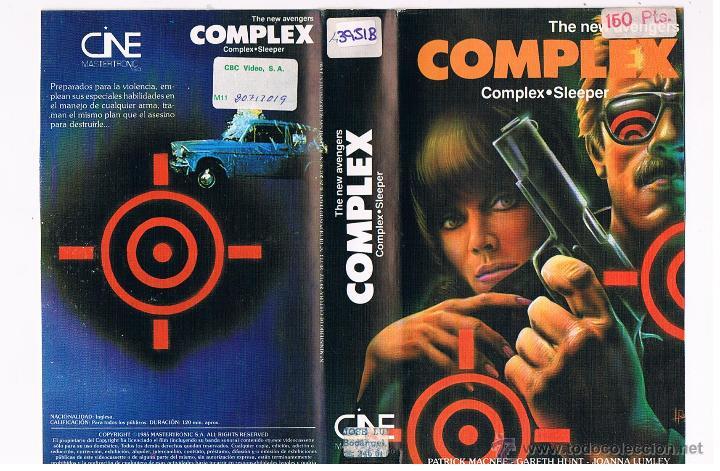 BETA HE NEW AVENGERS COMPLEX - PATRICK MACNEE (Cine - Películas - BETA)
