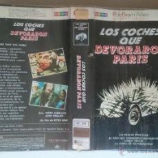 Cine: LOS COCHES QUE DEVORARON PARIS. Lote 50534802