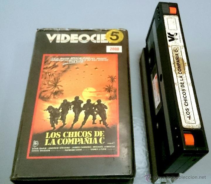 LOS CHICOS DE LA COMPAÑIA C - VIDEO 2000 - (Cine - Películas - BETA)