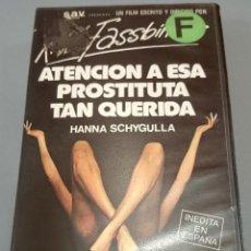 Cine: ATENCIÓN A ESA PROSTITUTA TAN QUERIDA - R.W. FASSBINDER . Lote 50718275