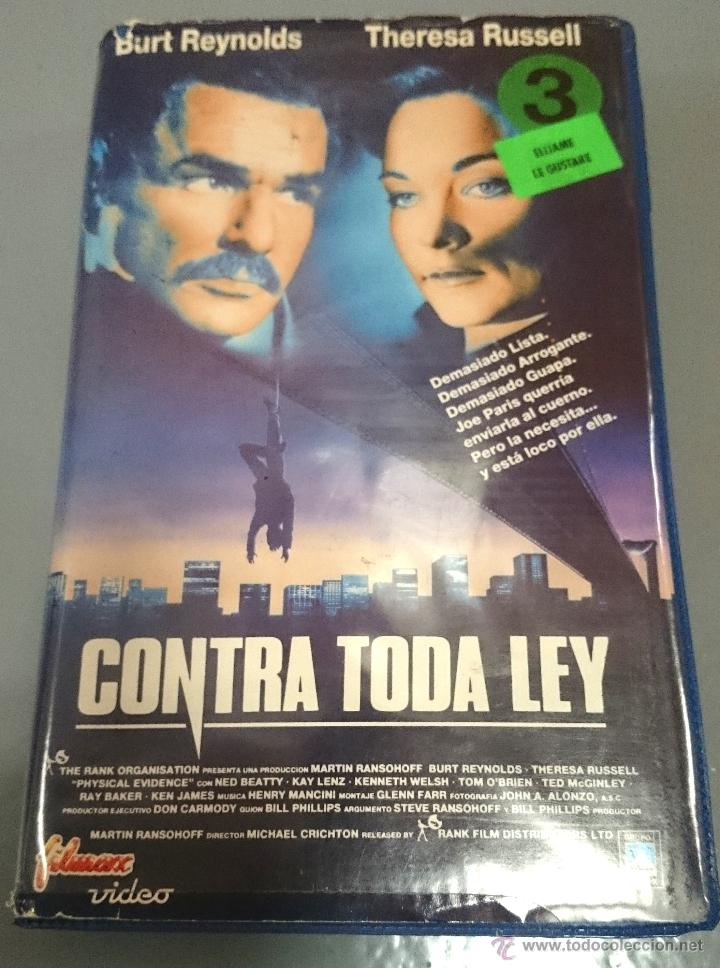 CONTRA TODA LEY - BURT LANCASTER (Cine - Películas - BETA)