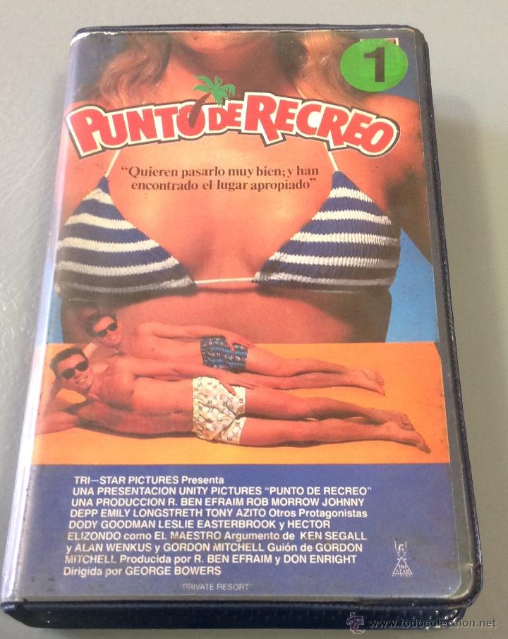 PUNTO DE RECREO - BETA - COMEDIA PLAYERA CON JOHNNY DEEP (Cine - Películas - BETA)