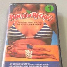 Cine: PUNTO DE RECREO - BETA - COMEDIA PLAYERA CON JOHNNY DEEP. Lote 50726483