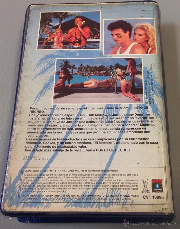 Cine: PUNTO DE RECREO - BETA - COMEDIA PLAYERA CON JOHNNY DEEP - Foto 2 - 50726483