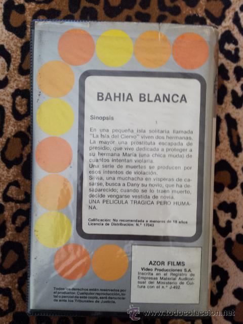 Cine: BAHÍA BLANCA - película rarísima de Jess Franco en BETA. - Foto 3 - 51120465