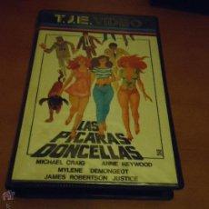 Cine: ANTIGUA CINTA COLECCION BETA - LAS PICARAS DONCELLAS , 1984. Lote 51392925