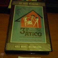 Cine: CINE - ANTIGUA CINTA COLECCION BETA - LEER DESCRIPCION - 3 EN EL ATICO . Lote 51392948
