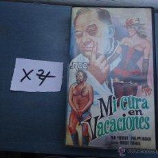 Cine: CINE - ANTIGUA CINTA COLECCION BETA - LEER DESCRIPCION - MI CURA EN VACACIONES. Lote 51417031
