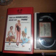 Cine: PARA NO DIVORCIARSE ..... MEJOR SER POBRE / BETA ORIGINAL / JOSE FRADE. Lote 51636111