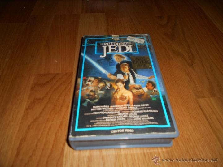 PELICULA BETA EL RETORNO DEL JEDI GEORGE LUCAS ORIGINAL AÑOS 80 STAR WARS CAP VI (Cine - Películas - BETA)