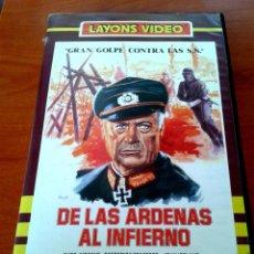 Cine: BETA - DE LAS ARDENAS AL INFIERNO - FREDERICK STAFFORD, ANTHONY DAWSON, ALBERTO DE MARTINO. Lote 53612750
