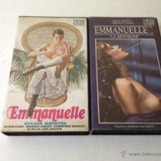 Cine: EMMANUELLE Y EMMANUELLE 2 LA ANTIVIRGEN/ORIGINAL BETA/CINE BETA. Lote 54153566