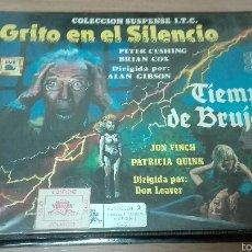 Cine: GRITO EN EL SILENCIO / TIEMPO DE BRUJAS. Lote 54667497