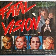 Cine: FATAL VISION. MINISERIE BETA DOBLE CON KARL MALDEN, EVA MARIE SAINT, GARY COLE Y ANDY GRIFFITH. Lote 58255536