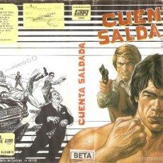 Cine: BETA CUENTA SALDADA - REGALO MONTAJE CON DVD. Lote 59621423
