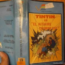 Cine: TINTIN EN..EL AFFAIRE TOURNESOL-BETA. Lote 60615991