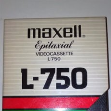Cine: CINTA BETA MAXELL EPITAXIAL L-750 (BETAMAX). Lote 60840111