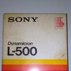 Cine: CINTA BETA SONY DYNAMICRON L-500 (BETAMAX). Lote 60841503