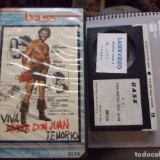 Cine: VIVA MUERA DON JUAN TENORIO - TOMAS AZNAR - LORENZO SANTAMARIA , ANGELA MOLINA - BASS. Lote 62596388