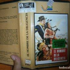 Cine: EL HOMBRE DE LA DILIGENCIA-(SISTEMA -2000). Lote 63251216