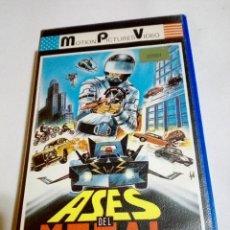 Cine: BETA - ASES DEL METAL (MAD MISSION 2) - SAMUEL HUI, KARL MAKA, ERIC TSANG - ROBOS & ATRACOS, COMEDIA. Lote 67517613