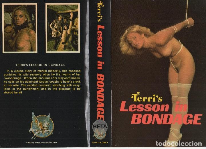 Terris lesson in bondage