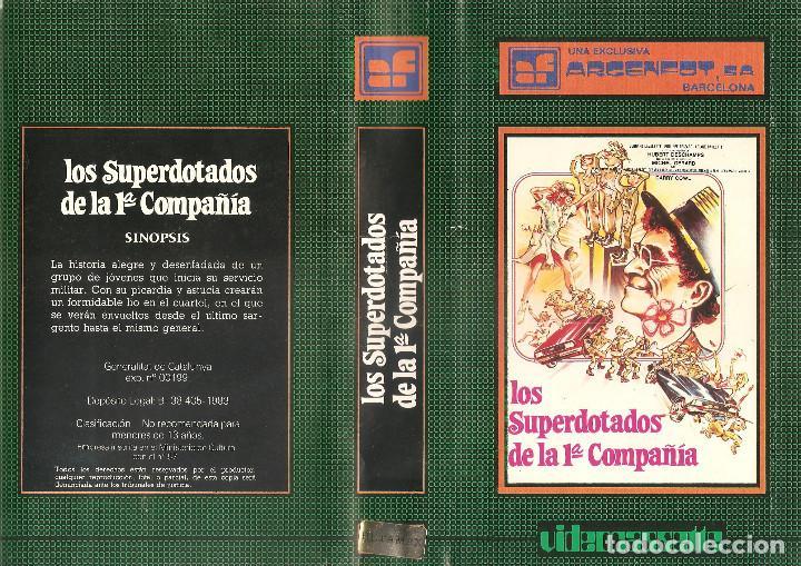 LOS SUPERDOTADOS DE LA 1 COMPAÑIA REGALO MONTAJE EXCLUSIVO CON DVD (Cine - Películas - BETA)