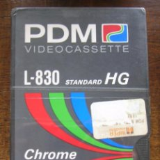 Cine: PELICULA CINTA VIDEO BETA VIRGEN PDM L-830 HG CHROME PRECINTADA. Lote 74791649