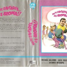 Cine: NO TE ENFADES.. ES BROMA (ALDO MACCIONE, MICHEL GALABRU) REGALO TRANSFER A DVD. Lote 75939031