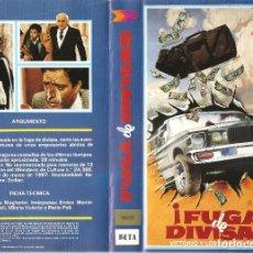 Cine: ¡FUGA DE DIVISAS! ENRICO MONTESANO ADOLFO CELI REGALO TRANSFER A DVD. Lote 75939307