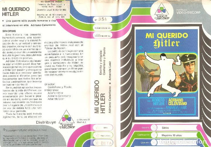 MI QUERIDO HITLER - ADRIANO CELENTANO, AMANDA LEAR - ITALIANA • RARA - REGALO MONTAJE A DVD DUAL (Cine - Películas - BETA)