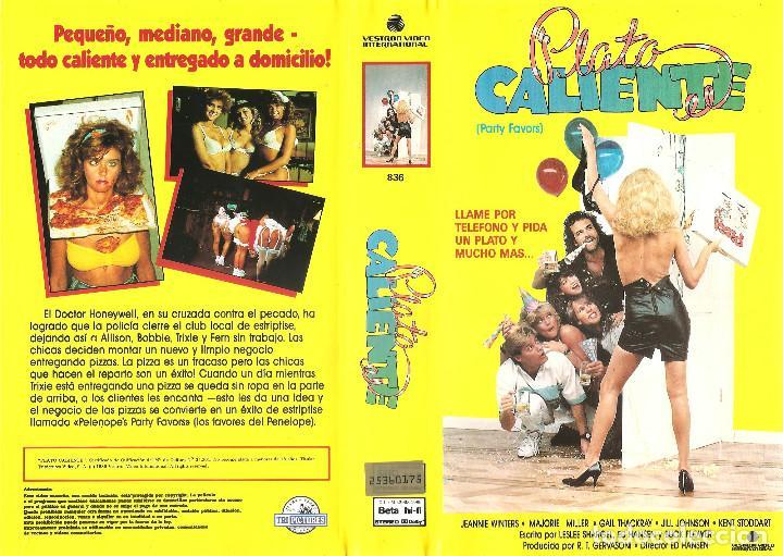 PLATO CALIENTE (1987) - JEANNIE WINTERS JOHN F. GOFF BLONDI RAREZA - REGALO DVD CON TRANSFER (Cine - Películas - BETA)