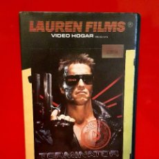 Cine: TERMINATOR (1984) - JAMES CAMERON. IMPECABLE - 1ª EDIC UNICA EN TC!. Lote 76530755