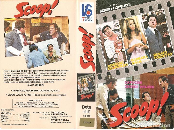 SCOOP ! - REGALO MONTAJE EN DVD - ADRIANO CELENTANO, BARBARA BACH, RENATO POZZETTO - RARA (Cine - Películas - BETA)