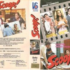 Cine: SCOOP ! - REGALO MONTAJE EN DVD - ADRIANO CELENTANO, BARBARA BACH, RENATO POZZETTO - RARA. Lote 76780607