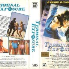 Cine: TERMINAL EXPOSURE - NICO MASTORAKIS REGALO TRANSFER A DVD. Lote 77639865