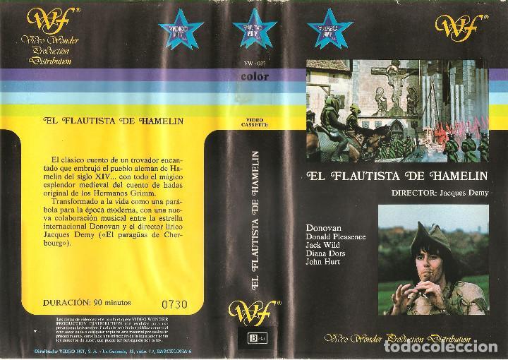 EL FLAUTISTA DE HAMELIN - DONALD PLEASENCE - DONOVAN - REGALO TRANSFER A DVD (Cine - Películas - BETA)