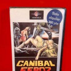 Cine: CANIBAL FEROZ (1981) - CANNIBAL FEROX. Lote 82054524