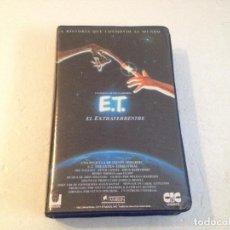 Cine: E.T. EL EXTRATERRESTRE BETA/EDICION CON HOLOGRAMA AMBLIN/ET EL EXTRATERRESTRE . Lote 82113000