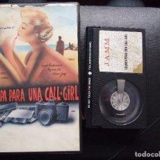 Cine: TRAMPA PARA UNA CALL-GIRL , PORN GIRL - GEORGES LEWIS - LYNN ENDERSSON , MYRNA VEL - JAMM 1982. Lote 83638160